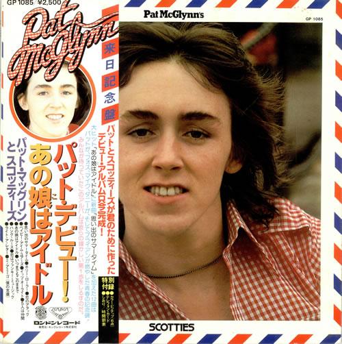 Pat McGlynn Pat McGlynn's Scotties vinyl LP album (LP record) Japanese P.MLPPA494352
