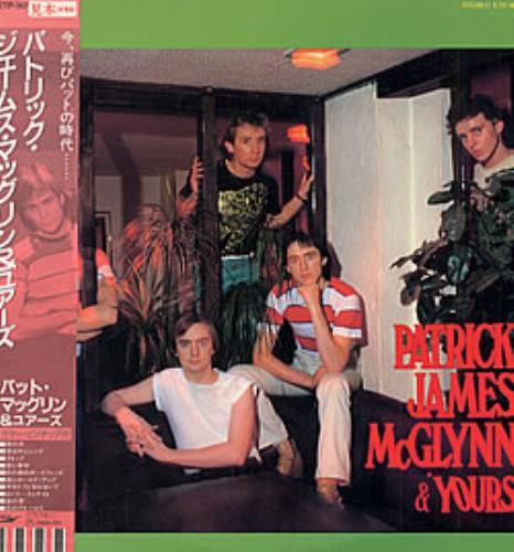 Pat McGlynn Patrick James McGlynn & 'Yours' vinyl LP album (LP record) Japanese P.MLPPA218566