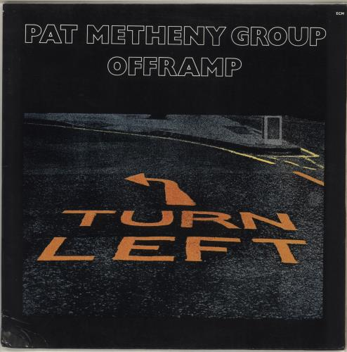 Pat Metheny Offramp vinyl LP album (LP record) German PMELPOF494888