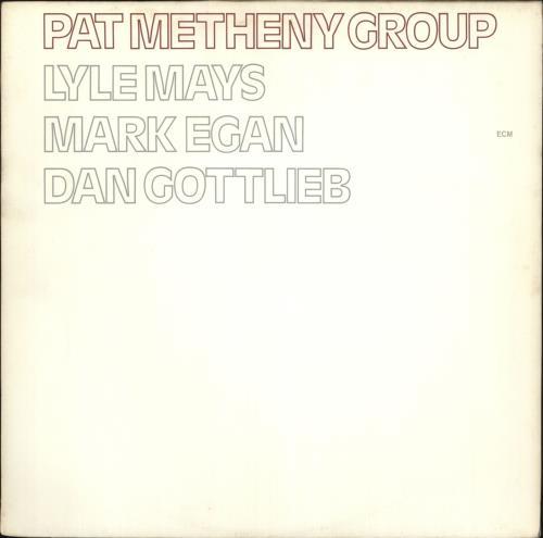 Pat Metheny Pat Metheny Group vinyl LP album (LP record) German PMELPPA391346