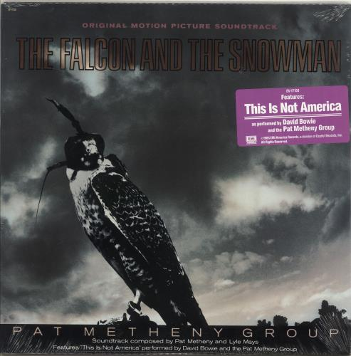 Pat Metheny The Falcon And The Snowman - Sealed vinyl LP album (LP record) US PMELPTH671000