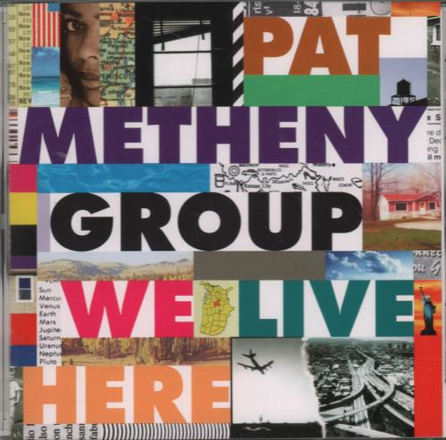Pat Metheny We Live Here CD album (CDLP) Japanese PMECDWE652271