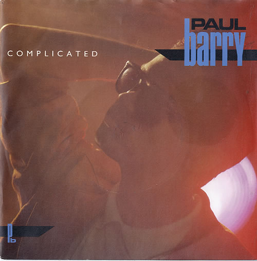 "Paul Barry Complicated 7"" vinyl single (7 inch record) UK PYB07CO625761"