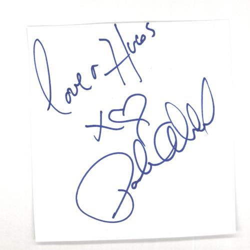Paula Abdul Autograph memorabilia UK ABDMMAU714651
