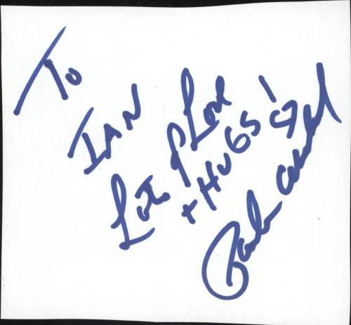 Paula Abdul Autograph memorabilia UK ABDMMAU733946