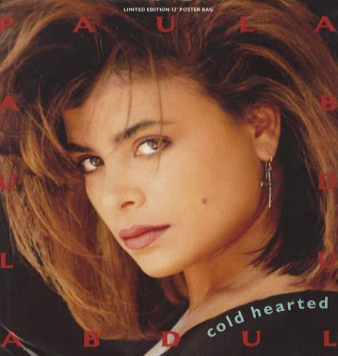 Paula Abdul Cold Hearted Poster Sleeve Uk 12 Quot Vinyl