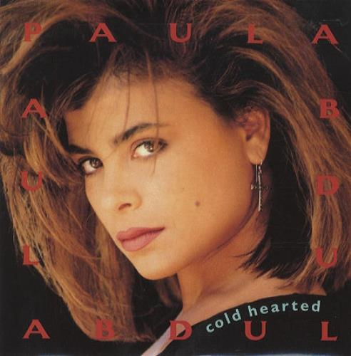 "Paula Abdul Cold Hearted 7"" vinyl single (7 inch record) UK ABD07CO104687"