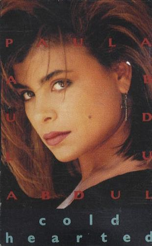 Paula Abdul Cold Hearted cassette single US ABDCSCO162997