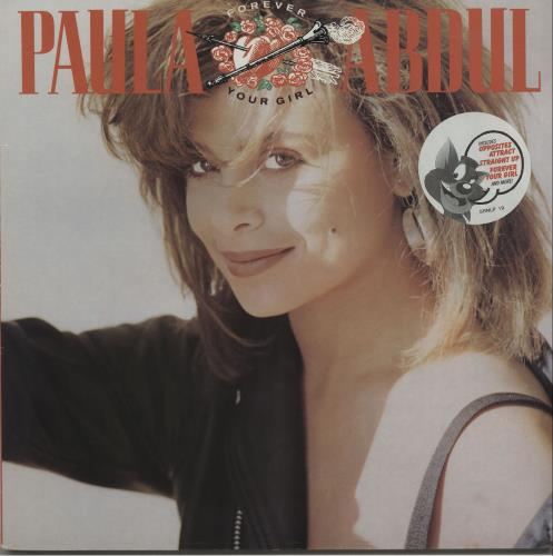 Paula Abdul Forever Your Girl - stickered vinyl LP album (LP record) UK ABDLPFO668180