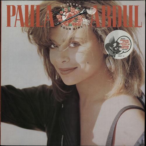 Paula Abdul Forever Your Girl vinyl LP album (LP record) UK ABDLPFO238206