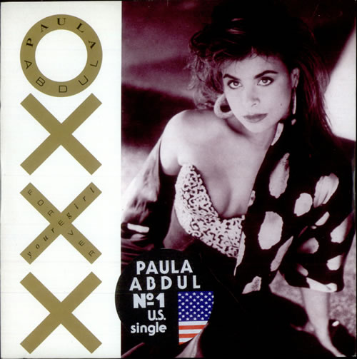 "Paula Abdul Forever Your Girl 7"" vinyl single (7 inch record) UK ABD07FO514821"
