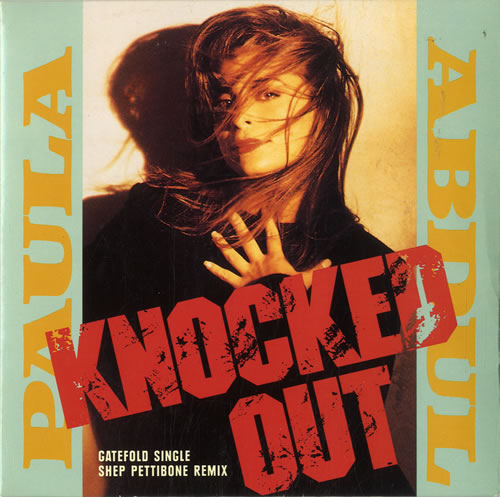 "Paula Abdul Knocked Out - Gatefold Sleeve 7"" vinyl single (7 inch record) UK ABD07KN601217"