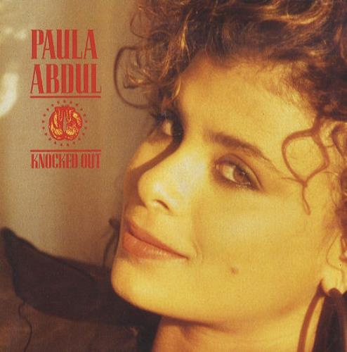 "Paula Abdul Knocked Out 7"" vinyl single (7 inch record) UK ABD07KN105506"