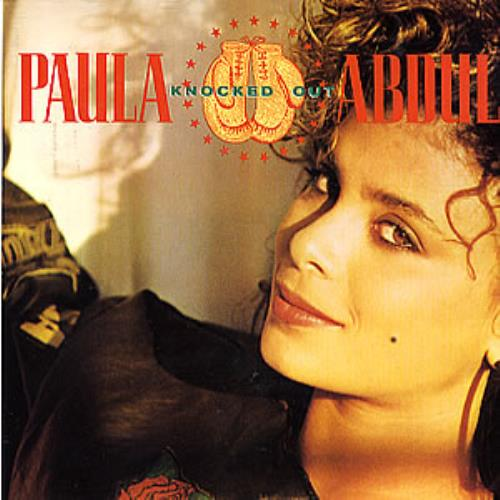 "Paula Abdul Knocked Out 7"" vinyl single (7 inch record) UK ABD07KN289376"