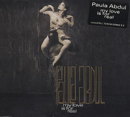 "Paula Abdul My Love Is For Real CD single (CD5 / 5"") UK ABDC5MY63089"