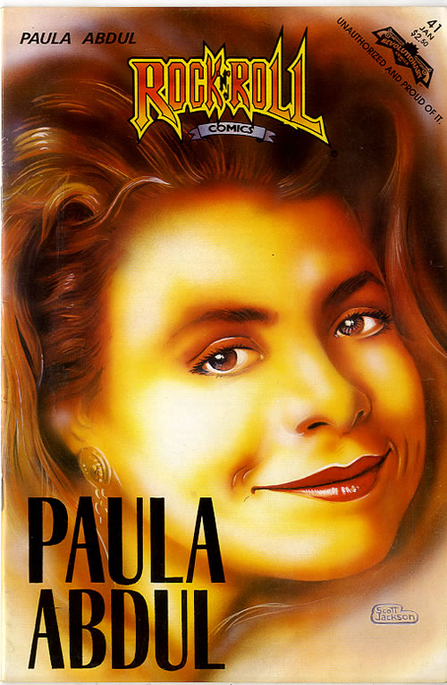 Paula Abdul Rock 'N' Roll Comic magazine US ABDMARO616728