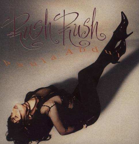 "Paula Abdul Rush Rush - Glossy 7"" vinyl single (7 inch record) UK ABD07RU751027"