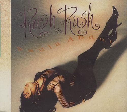 "Paula Abdul Rush Rush CD single (CD5 / 5"") UK ABDC5RU34973"