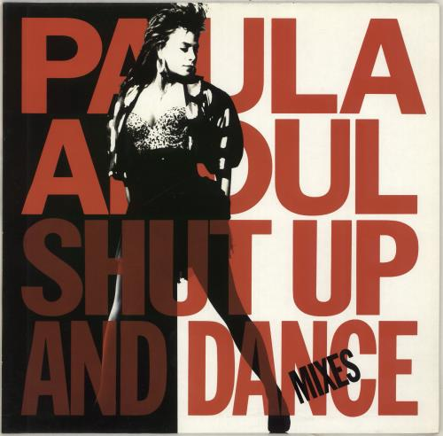 Paula Abdul Shut Up And Dance - The Dance Mixes vinyl LP album (LP record) UK ABDLPSH266503
