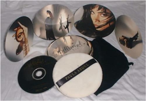 Paula Abdul Spellbound - Make Up Pack CD album (CDLP) US ABDCDSP13331
