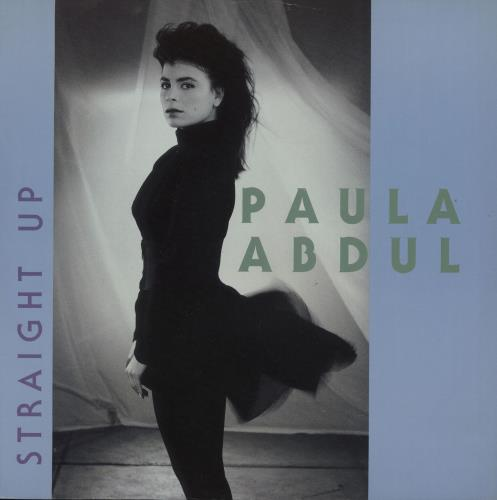 "Paula Abdul Straight Up (12"" Remix) 12"" vinyl single (12 inch record / Maxi-single) UK ABD12ST52774"