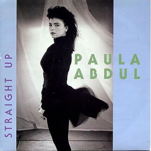 "Paula Abdul Straight Up 7"" vinyl single (7 inch record) UK ABD07ST232149"