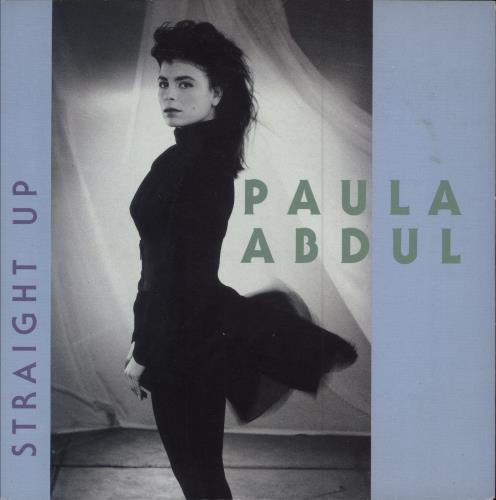 "Paula Abdul Straight Up 7"" vinyl single (7 inch record) UK ABD07ST656813"