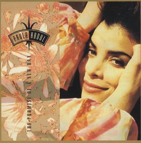 "Paula Abdul The Promise Of A New Day 7"" vinyl single (7 inch record) UK ABD07TH242332"