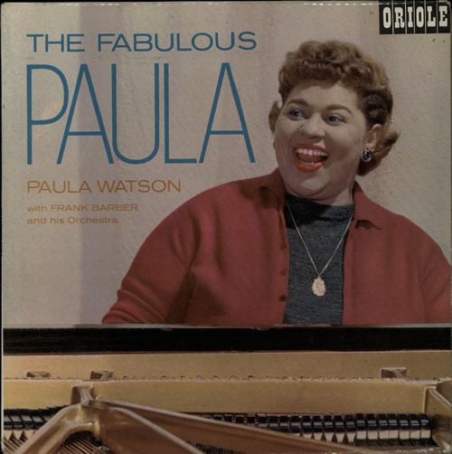 Paula Watson The Fabulous Paula vinyl LP album (LP record) UK P43LPTH578047