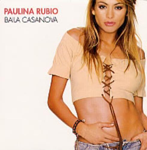 "Paulina Rubio Baila Casanova CD single (CD5 / 5"") Mexican PNAC5BA233467"