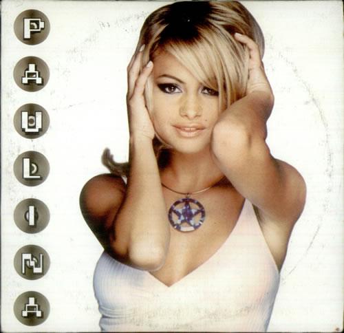 """Paulina Rubio Solo Por Ti CD single (CD5 / 5"""") Mexican PNAC5SO450233"""