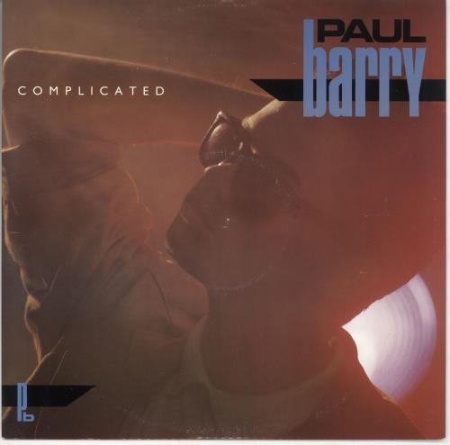 "Paul Barry Complicated 12"" vinyl single (12 inch record / Maxi-single) UK PYB12CO725740"