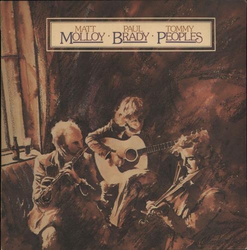 Paul Brady Matt Molloy / Paul Brady / Tommy Peoples vinyl LP album (LP record) Irish PABLPMA714060