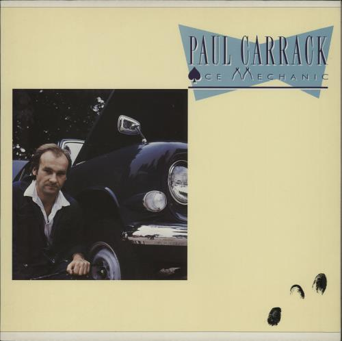 Paul Carrack Ace Mechanic vinyl LP album (LP record) UK PCALPAC764666