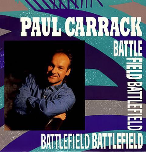 "Paul Carrack Battlefield - Sealed 12"" vinyl single (12 inch record / Maxi-single) UK PCA12BA285149"