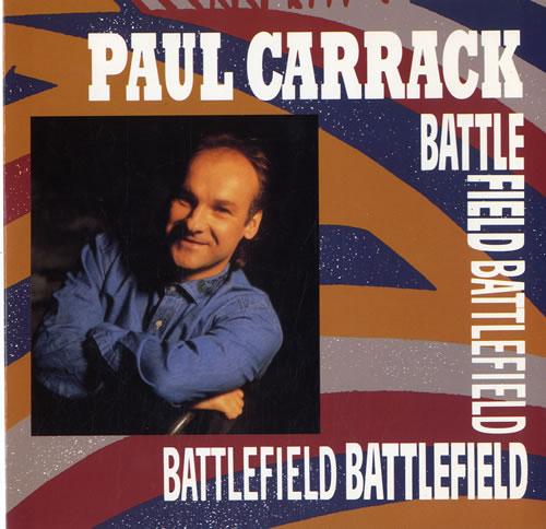 "Paul Carrack Battlefield 7"" vinyl single (7 inch record) UK PCA07BA591402"