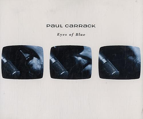 "Paul Carrack Eyes Of Blue CD single (CD5 / 5"") Dutch PCAC5EY155619"