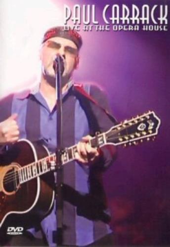 Paul Carrack Live At The Opera House DVD UK PCADDLI303040