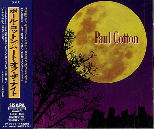 Paul Cotton Changing Horses Japanese Promo CD album (CDLP)