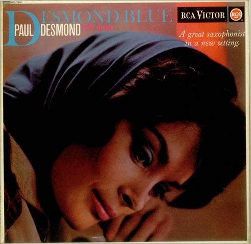 Paul Desmond Desmond Blue Uk Vinyl Lp Album Lp Record