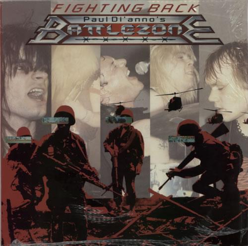 Paul Dianno Fighting Back vinyl LP album (LP record) UK P-DLPFI593912