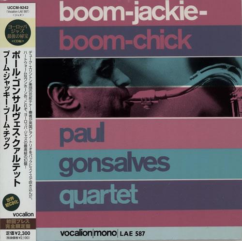 Paul Gonsalves Boom-Jackie-Boom-Chick CD album (CDLP) Japanese PGNCDBO575915