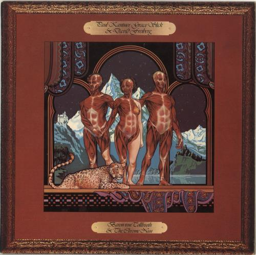Paul Kantner Baron Von Tollbooth & The Chrome Nun vinyl LP album (LP record) UK PKALPBA713638