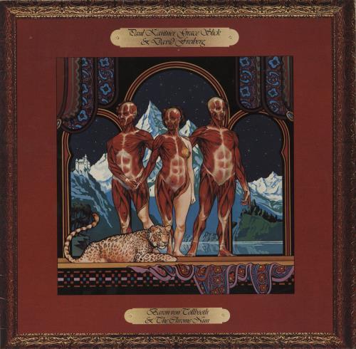Paul Kantner Baron Von Tollbooth & The Chrome Nun vinyl LP album (LP record) French PKALPBA757101