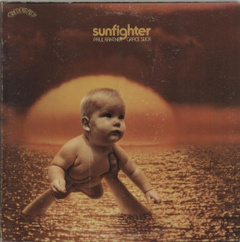 Paul Kantner Sunfighter - Complete - EX vinyl LP album (LP record) US PKALPSU387887