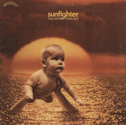 Paul Kantner Sunfighter - Complete - VG+ vinyl LP album (LP record) US PKALPSU387887