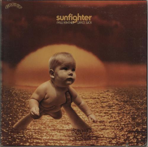 Paul Kantner Sunfighter - Complete vinyl LP album (LP record) US PKALPSU190211