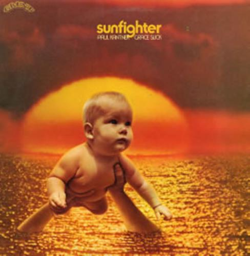Paul Kantner Sunfighter vinyl LP album (LP record) UK PKALPSU264157