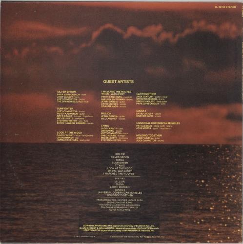 Paul Kantner Sunfighter vinyl LP album (LP record) Italian PKALPSU724430