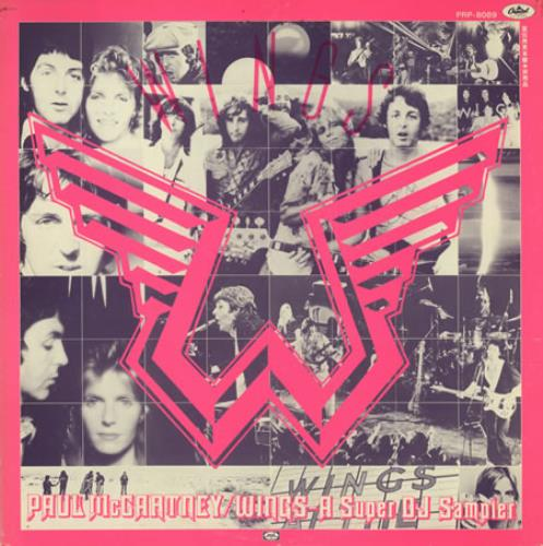 Paul McCartney and Wings A Super DJ Sampler vinyl LP album (LP record) Japanese MCCLPAS202850